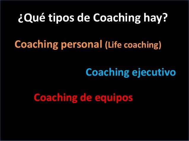 Coaching para lograr objetivos