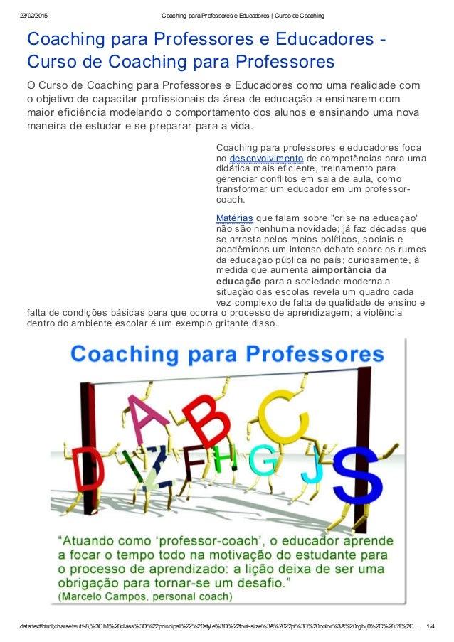 23/02/2015 CoachingparaProfessoreseEducadores|CursodeCoaching data:text/html;charset=utf8,%3Ch1%20class%3D%22prin...