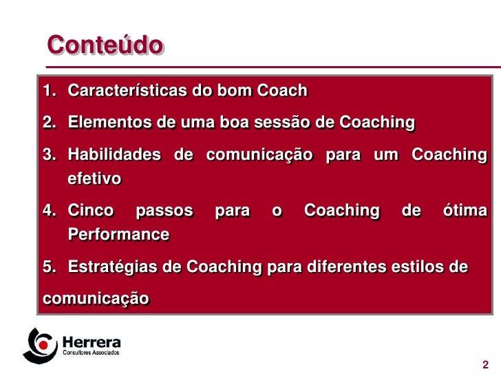 Coaching para ótima performance Slide 2