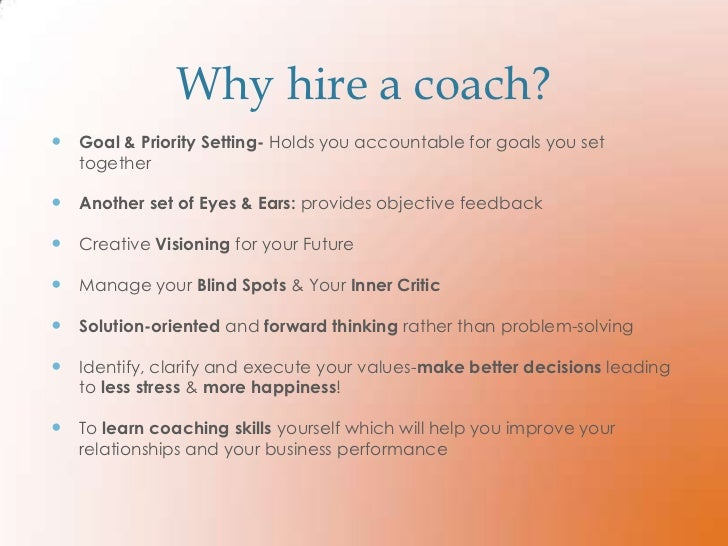 Coaching for Small Business
