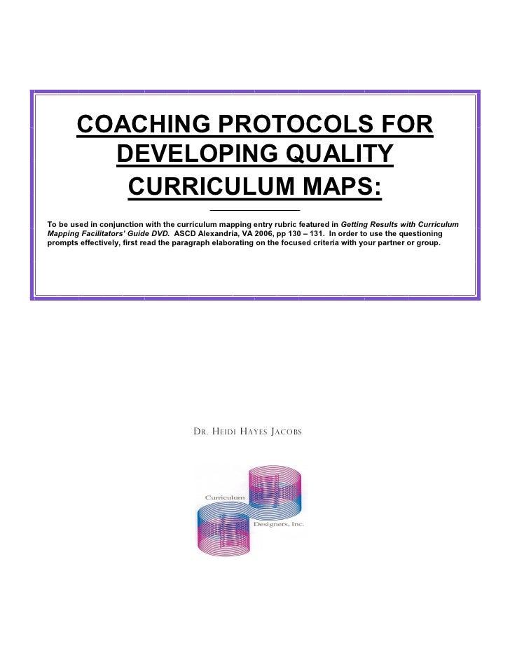 Coaching  protocols