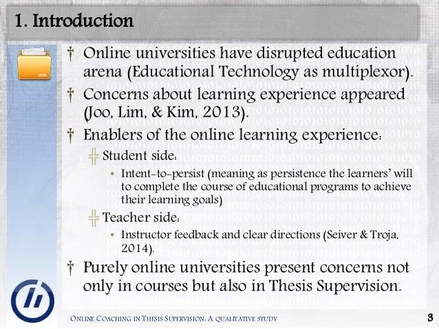 Lecturing Series: Supervising Undergraduate Dissertations