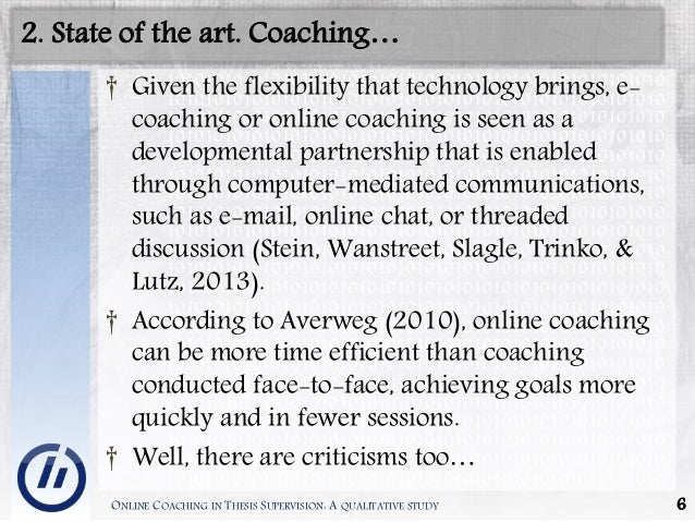 "level 5 coaching thesis In skills or performance at the individual level), and (c) coaching impact at the   coaching as a 3 or higher on a scale of 1 to 5, with 1 being ""not effective"" and 5   unpublished master's thesis, university of san francisco goldberg, r a."