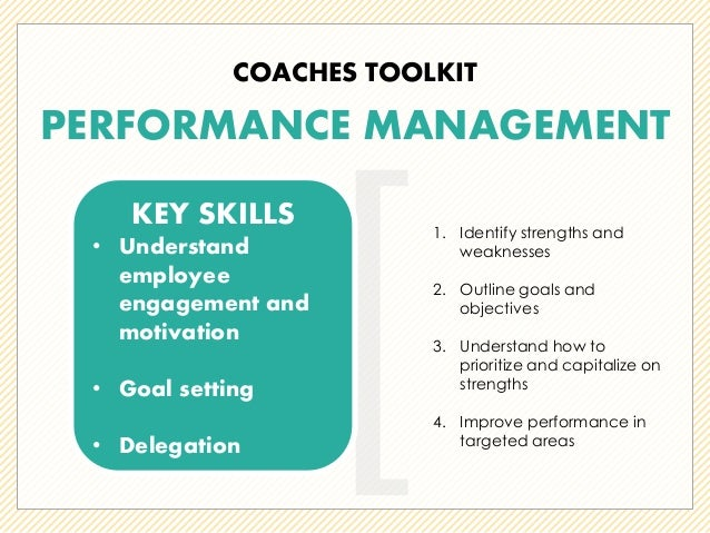 performance management a coaching plan for David mgmt 2125 performance management april 2, 2012 a coaching plan for success coaching employees can be emotional, frustrating and overwhelming if you do not approach the situation with confidence, knowledge and facts.