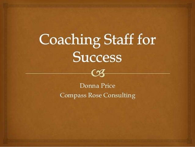 Coaching Staff for Success