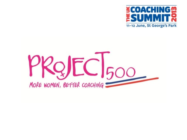 • Session overview– Why is there a need for Project 500?– How did Project 500 come about?– Who is involved with Project 50...