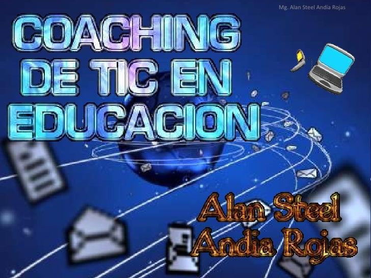 Mg. Alan Steel Andía Rojas<br />