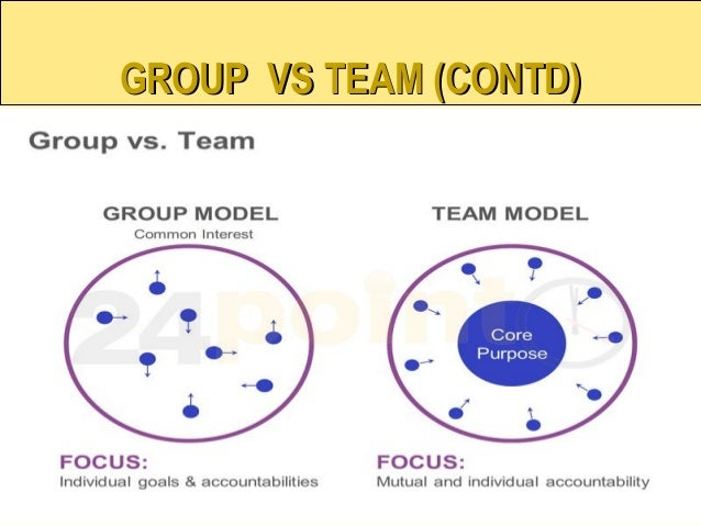 group vs team essays Although subtle, there are differences between groups and teams these are  typically the reason the group or team was assembled and the goal they.