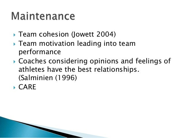 coach player athlete relationship The coach-parent relationship: a responsible approach which undermines the player-coach relationship parents and athletes are like any other relationship.
