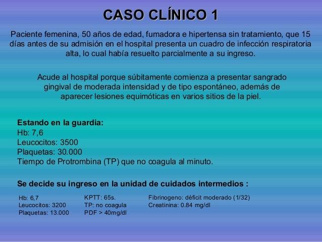 caso clinico de laringitis pdf