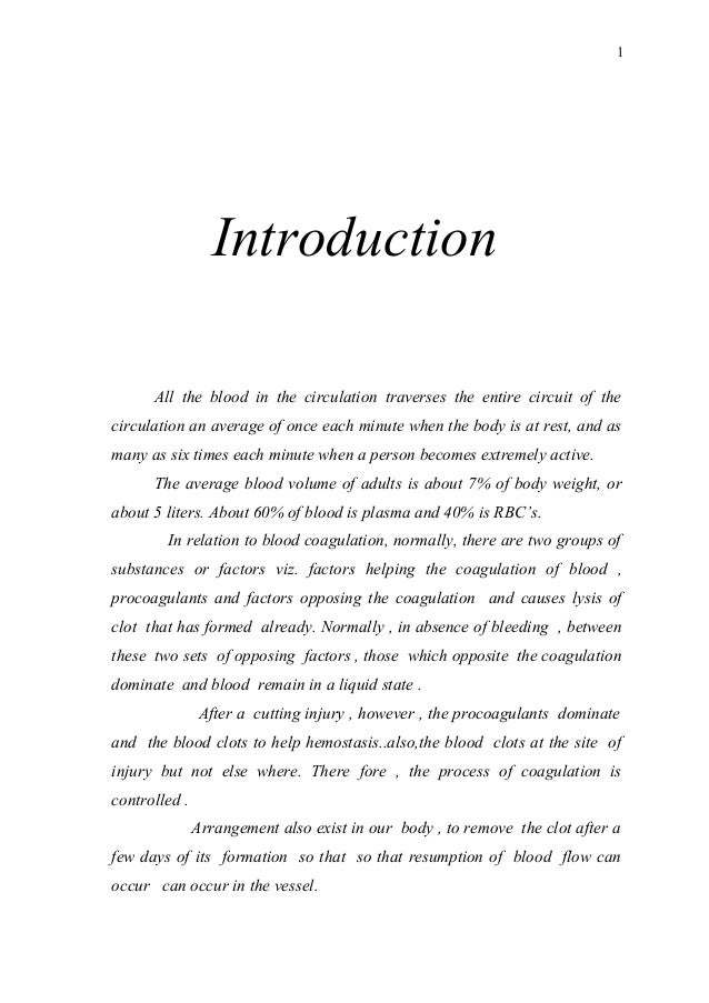 Introduction All the blood in the circulation traverses the entire circuit of the circulation an average of once each minu...