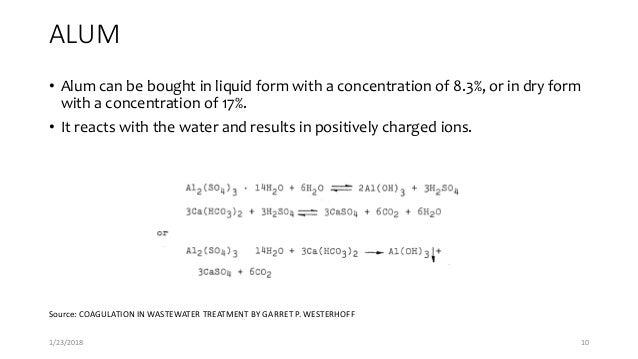 Coagulation Amp Flocculation In Wastewater Treatment