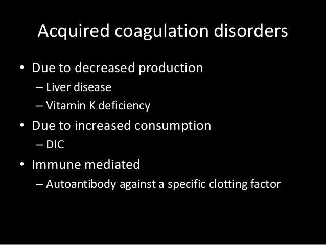 Coagulation Profile And Its Uses