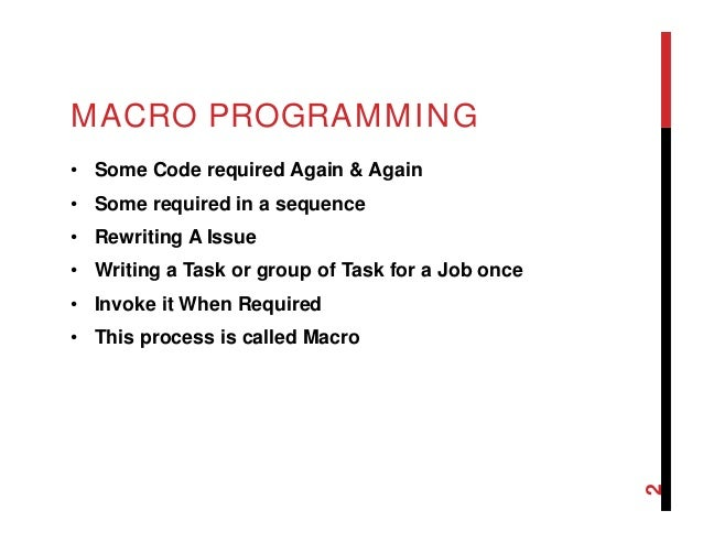 Coal 21- macro in Assembly Programming