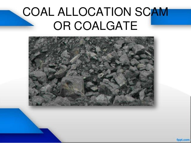 COAL ALLOCATION SCAMOR COALGATE