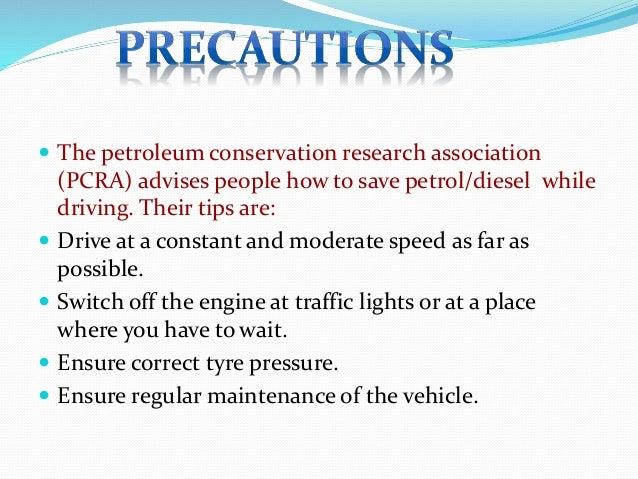 Coal and petroleum