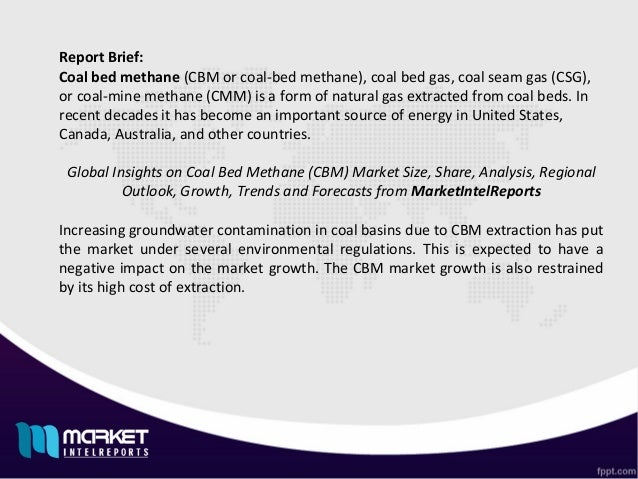 Coal Bed Methane Market: Evolving Technology, Trends and Industry Analysis 2022