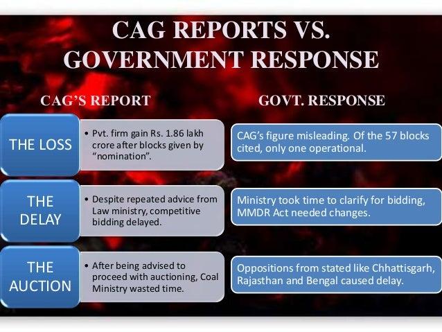 CAG REPORT ON COALGATE DOWNLOAD