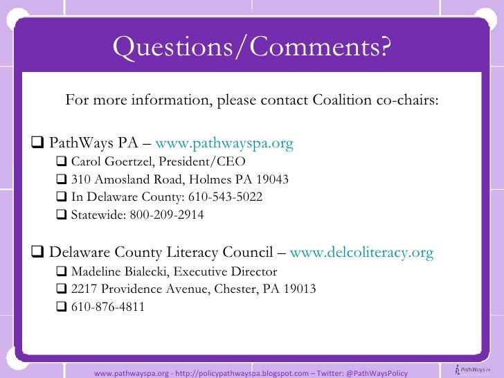 adult literacy programs in deleware county