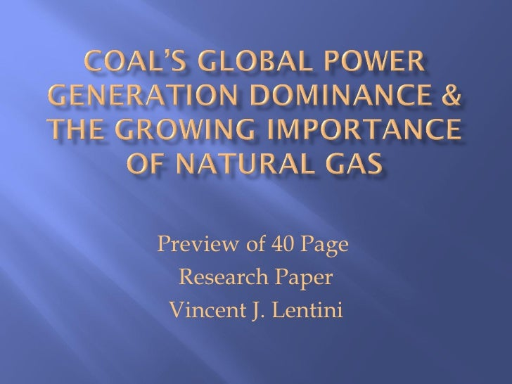Preview of 40 Page  Research Paper Vincent J. Lentini