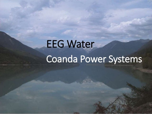 EEG Water Coanda Power Systems