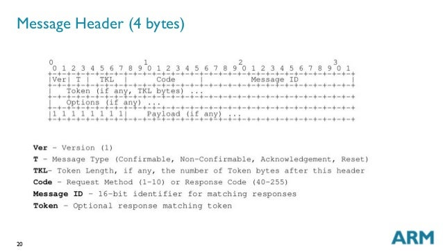 20 Message Header (4 bytes)