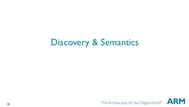 32 Discovery & Semantics