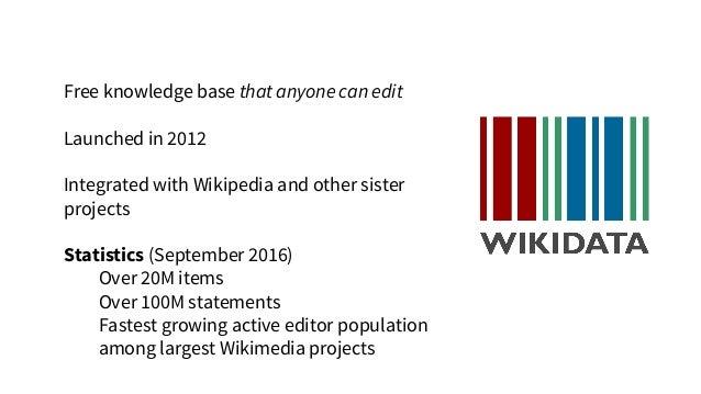 Wikidata's anatomy Linked data, San Francisco, Jeblad https://commons.wikimedia.org/wiki/File:Linked_Data_-_San_Francisco....