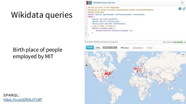 Expert curation of scientific open data Benjamin Good (2016) Opportunities and challenges presented by Wikidata in the con...