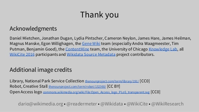 Citations needed for the sum of all human knowledge: Wikidata as the missing link between scholarly publishing and linked ...