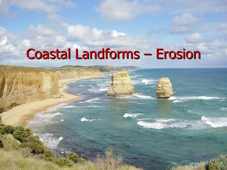 Coastal Landforms – Erosion
