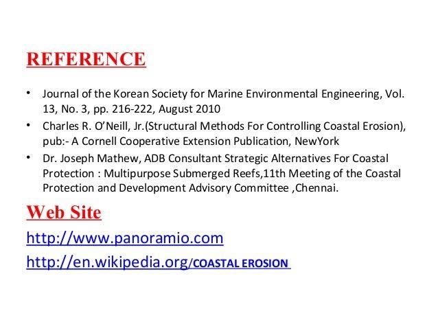 Coastal Erosion Mitigation