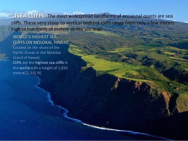 Coastal Geomorphology Landforms Of Wave Erosion Deposition - Landforms in hawaii