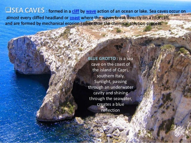 Are Sea Caves Formed By Erosion Or Deposition - The Best Cave