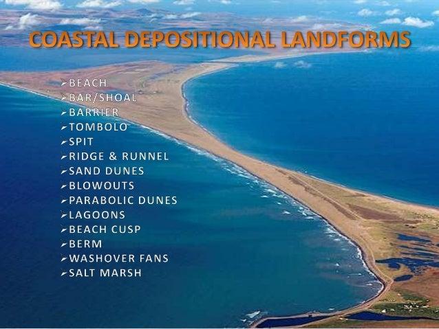 Coastal Geomorphology Landforms Of Wave Erosion & Deposition
