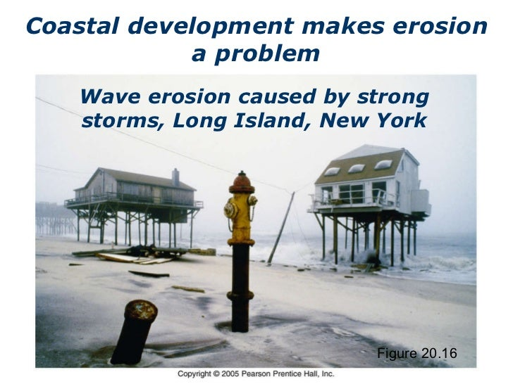 What Causes Coastal Erosion?