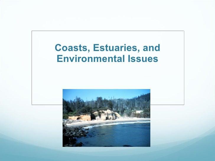 Coasts, Estuaries, and Environmental Issues