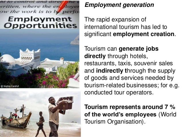 jobs in tourism