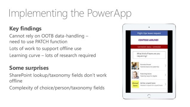 COB - PowerApps - the good, the bad and the ugly - early 2018