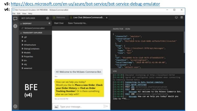Code on the Beach 2018: Build an E-Commerce Chatbot on Azure