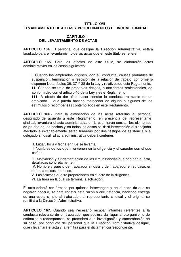 Formato Acta Administrativa Faltas Injustificadas