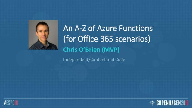 COB - Azure Functions for Office 365 developers