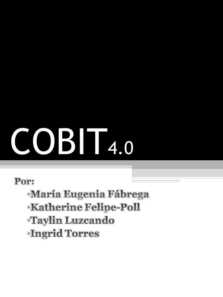 COBIT 4.0