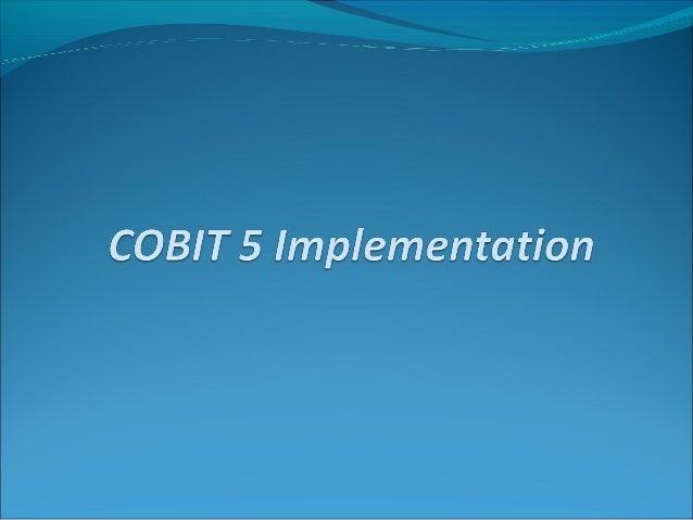 cobit self assessment guide using cobit 5 pdf