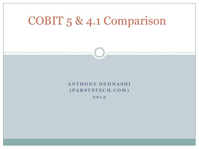 Cobit 5 Deutsch Pdf
