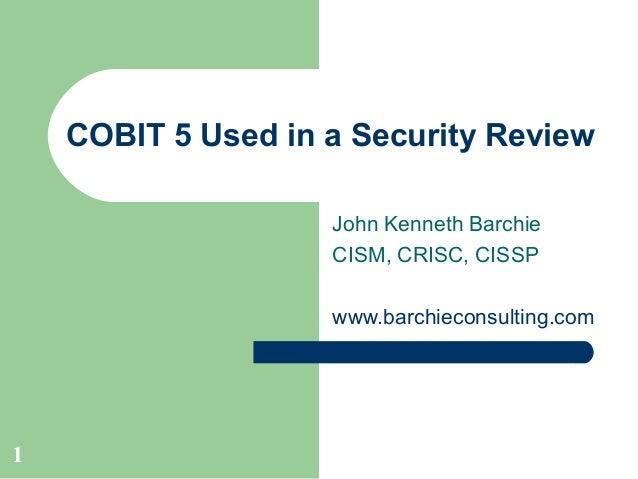 COBIT Basics
