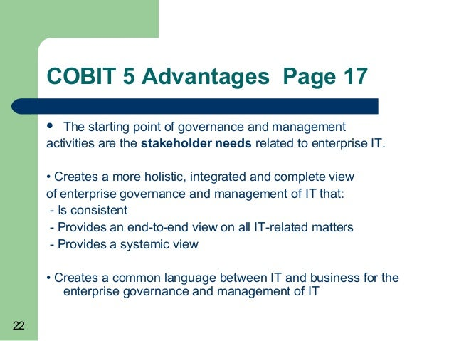 cobit 5 used in an information security review. Black Bedroom Furniture Sets. Home Design Ideas