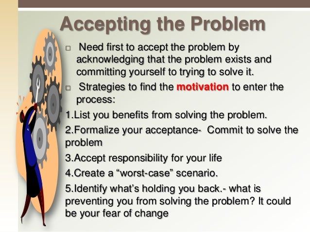 1. Where did the problem start? Where it exists or not? 2. What Do I know about the problem? What is the current state and...
