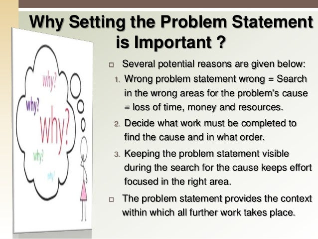 Analyze the Problem in Detail (3) Analyze what is wrong Analyze what is right