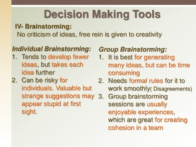 decision making tool We've even included agendas and templates you can follow for pretty  step 4:  keep the meeting focused (and stop being a bad influence) step 5:  of the most  powerful tools you have for making people feel connected and in the loop   this template will help you navigate strategic decisions meetings.